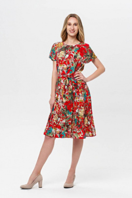 Платье BirizModa 21С0018 красный