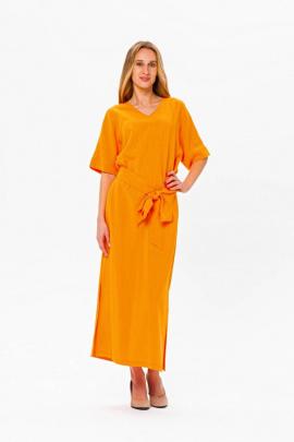 Платье BirizModa 21С0020 оранжевый