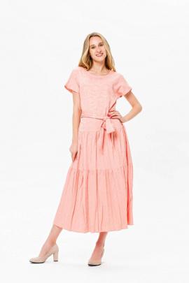 Платье BirizModa 21С0022 пудровый