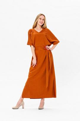 Платье BirizModa 21С0033 коричневый
