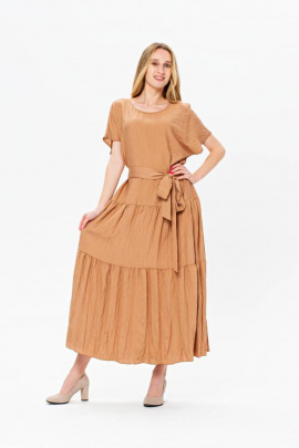 Платье BirizModa 21С0036 бежевый
