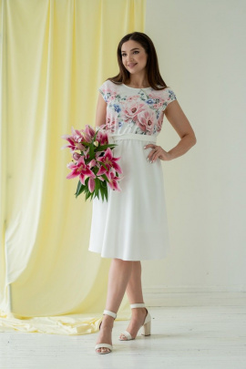 Платье Angelina 359 маки