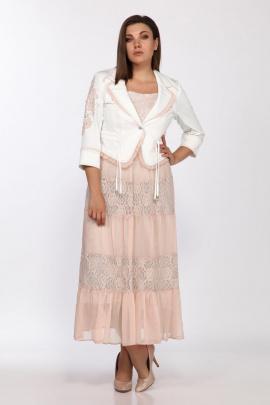 Жакет, Платье Lady Secret 3705 пудра