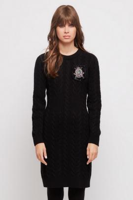 Платье Favorini 31688 черный