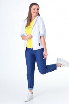 Комплект Danaida 2024 белый+джинс