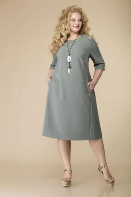 Платье Romanovich Style 1-2105 хаки
