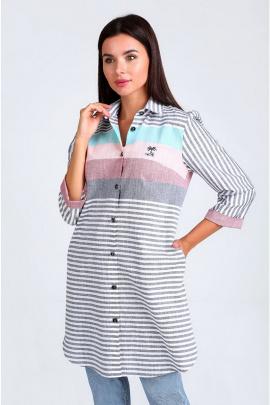 Рубашка Таир-Гранд 62403 джинс
