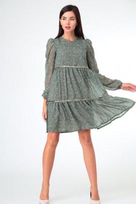 Платье Sisters Solonko Х-40 хаки