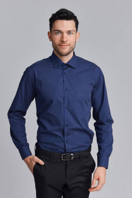 Рубашка Nadex 01-070913/501_182 темно-синий