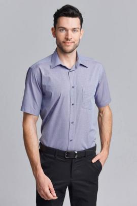 Рубашка Nadex 01-074423/203_182 меланж_фиолетовый