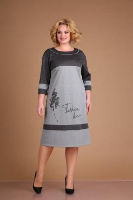 Платье Ксения Стиль 1915 серый