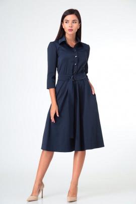 Платье Sisters Solonko Т-25 синий