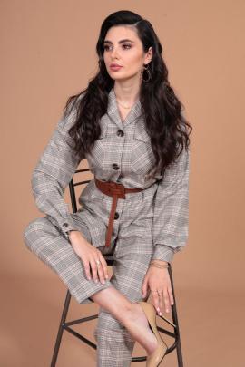 Женский костюм Твой имидж 1392 капучино