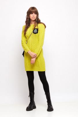 Платье Favorini 31688 лимон