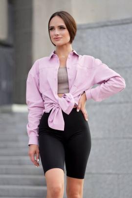 Рубашка JKY BA-002 розовый