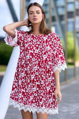 Платье JKY DA-012 красный