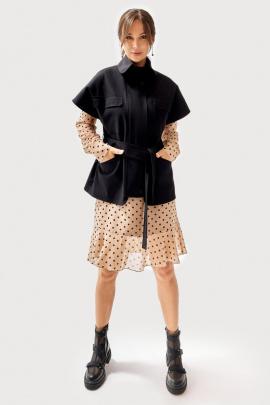Платье, Жилет FOXY FOX 1294 черный+бежевый