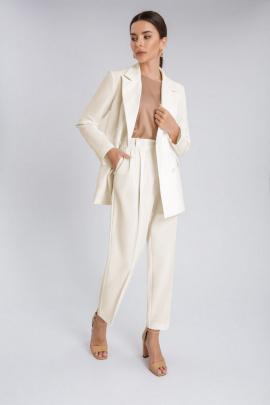 Женский костюм IVARI 201+306 молочный