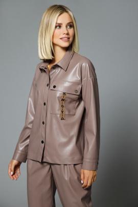 Блуза DiLiaFashion 0508 бежевый