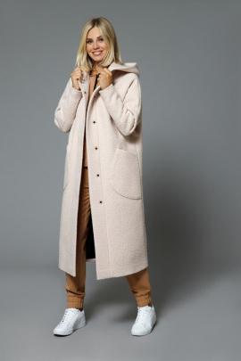 Пальто DiLiaFashion 0533 крем