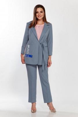 Женский костюм Belinga 2183 серо-голубой