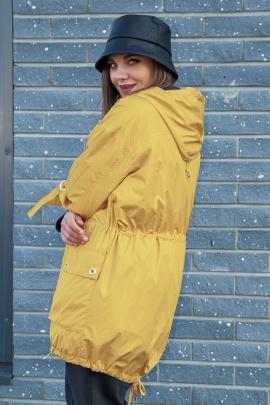 Куртка Lady Secret 6315 горчица
