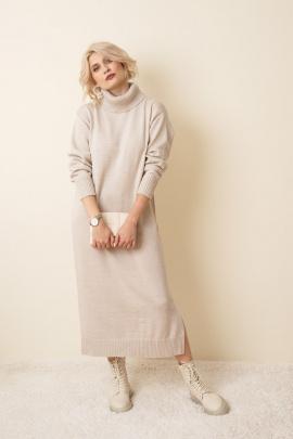 Платье KO-KO 6з кремовый
