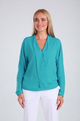 Блуза SandyNa 13863 голубой