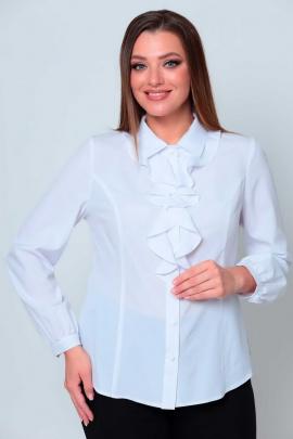 Блуза Асолия 4076/1 белая