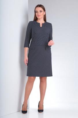 Платье AMORI 9544 клетка