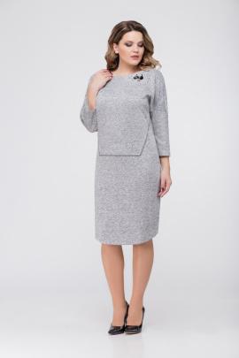 Платье DaLi 5361 серый