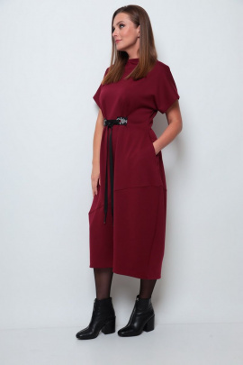 Платье Michel chic 2066 бордовый