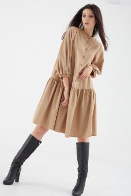Платье MALI 421-050 бежевый
