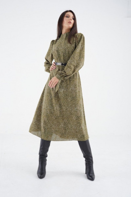 Платье MALI 421-069 зеленый