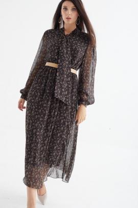 Платье MALI 421-079 огурцы