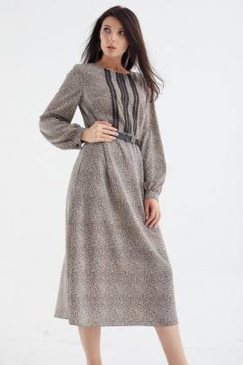 Платье MALI 421-089 леопард