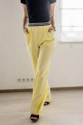 Брюки Legend Style P-015 светло-желтый