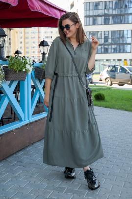 Платье Lady Secret 3683 хаки