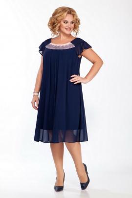 Платье LaKona 1389 синий-пудра