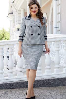 Женский костюм Vittoria Queen 14323 гусиная_лапка