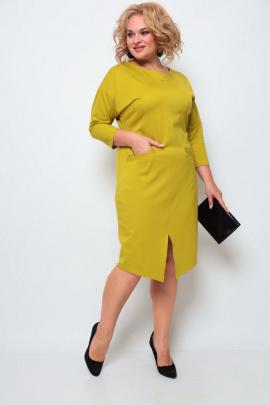Платье Michel chic 2067 горчичный