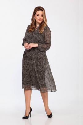 Платье Olegran 3785 камушки_на_черном