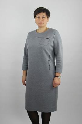 Платье Полесье С4405-21 1С1164-Д43 170 светло-серый_меланж