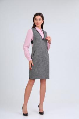 Комплект Ивелта плюс 607 розовая блузка