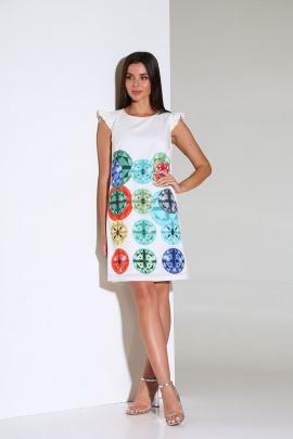 Платье Andrea Fashion AF-162 молоко