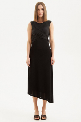 Платье Moveri by Larisa Balunova 5451 черный