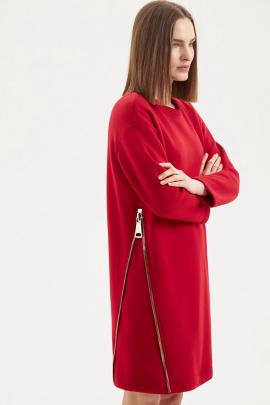 Платье Moveri by Larisa Balunova 5066D красный