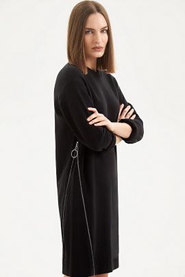 Платье Moveri by Larisa Balunova 5066D черный