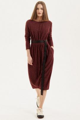 Платье Moveri by Larisa Balunova 5538 бордо