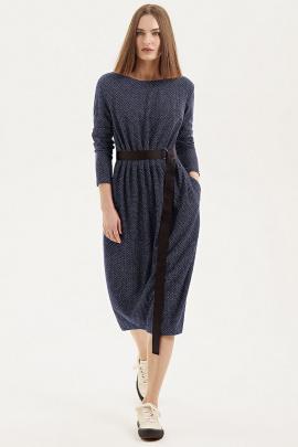 Платье Moveri by Larisa Balunova 5538 синий